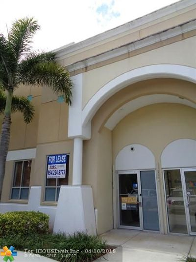 Davie Commercial For Sale: 10220 W State Rd. 84 #11