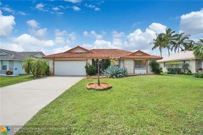 Coral Springs Single Family Home For Sale: 4220 NW 73rd Avenue