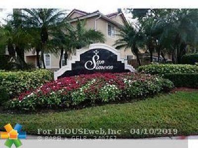 Weston Condo/Townhouse For Sale: 3865 San Simeon Cir