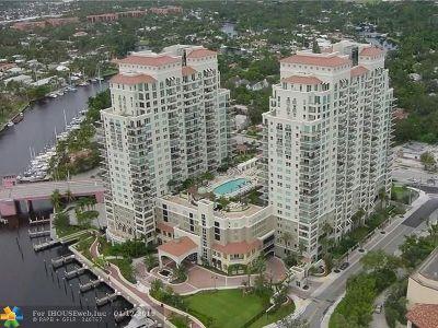 Fort Lauderdale Condo/Townhouse For Sale: 610 W Las Olas Blvd #1513N