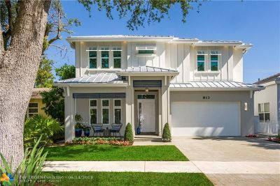 Fort Lauderdale Single Family Home For Sale: 813 SE 6th St