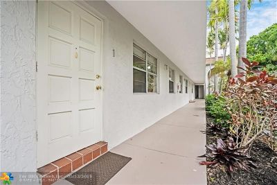Oakland Park Condo/Townhouse For Sale: 3421 NE 15th Ave #1
