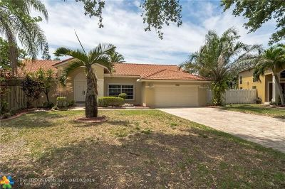 Sunrise Single Family Home For Sale: 13250 NW 11th Dr