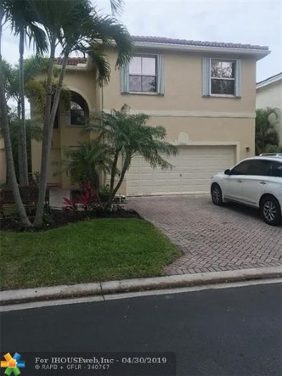 Coral Springs Single Family Home For Sale: 10861 NW 34th Pl