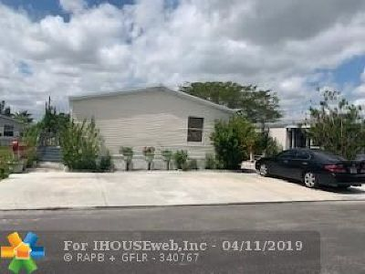 Homestead Single Family Home For Sale: 35250 SW 177th Ct Lot 215