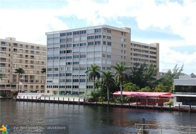 Fort Lauderdale Condo/Townhouse For Sale: 3100 NE 49th St #710