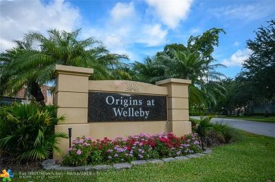 Sunrise Condo/Townhouse For Sale: 3651 NW 95th Ter #901