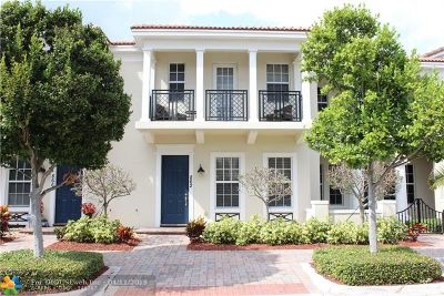 Boca Raton Condo/Townhouse For Sale: 862 NW 83rd Ln #-