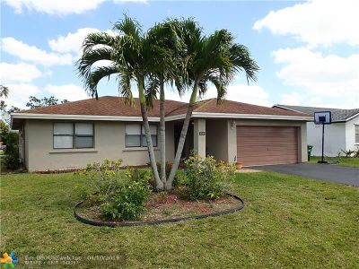 Tamarac Single Family Home Backup Contract-Call LA: 8280 NW 98th Ave