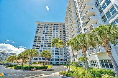 Pompano Beach Condo/Townhouse For Sale: 405 N Ocean Blvd. #803