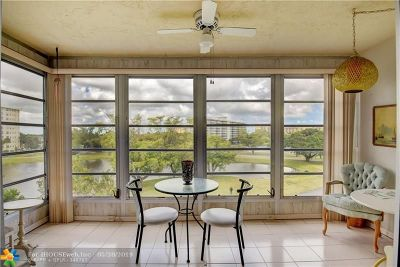 Pompano Beach Condo/Townhouse For Sale: 2940 N Course Dr #512
