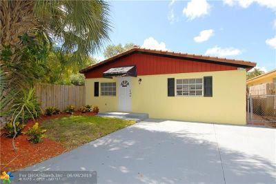 Fort Lauderdale Single Family Home For Sale: 1000 SW 19th St