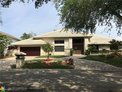 Coral Springs Single Family Home For Sale: 1701 Vestal Dr