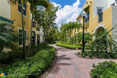 Pembroke Pines Condo/Townhouse For Sale: 12443 NW 17th Ct #12443