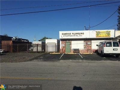 Oakland Park Commercial Backup Contract-Call LA: 4857-4859 NE 12th Avenue