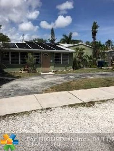 Wilton Manors Single Family Home For Sale: 19 NE 24th St