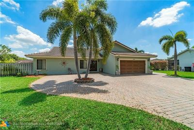 Coral Springs Single Family Home For Sale: 2155 NW 114th Ter