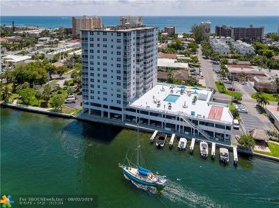 Pompano Beach Condo/Townhouse For Sale: 1505 N Riverside Dr #407
