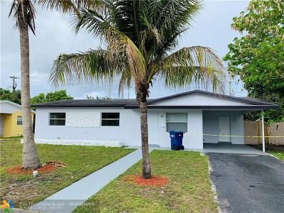 Lauderhill Single Family Home For Sale: 1361 NW 51st Ave