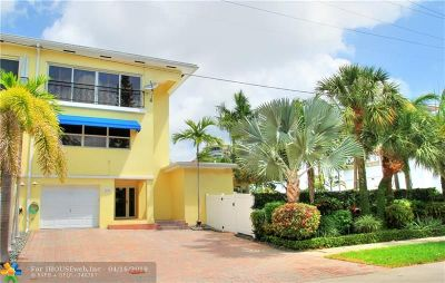 Fort Lauderdale Condo/Townhouse For Sale: 2113 SE 18th St