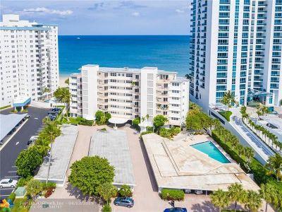 Pompano Beach Condo/Townhouse For Sale: 1530 S Ocean Blvd #202