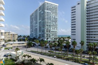 Fort Lauderdale Condo/Townhouse For Sale: 1920 S Ocean Dr #908