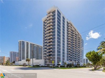 Pompano Beach Condo/Townhouse For Sale: 531 N Ocean Blvd #712