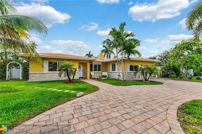 Pompano Beach Single Family Home For Sale: 3408 Norfolk St