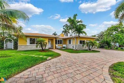 Pompano Beach Single Family Home For Sale: 3408 Norfolk St
