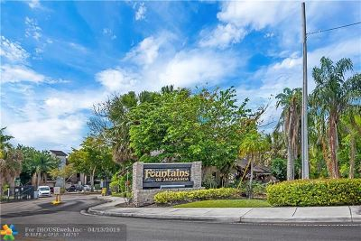 Plantation Condo/Townhouse For Sale: 140 SW 96th Ter #103