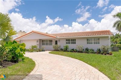 Pompano Beach Single Family Home For Sale: 2831 NE 8th Ct