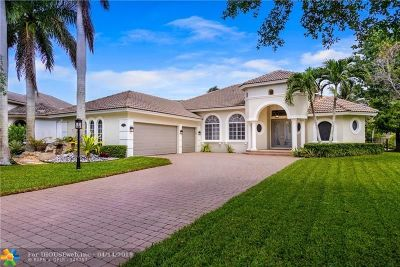 Coral Springs Single Family Home Backup Contract-Call LA: 6163 NW 124th Dr