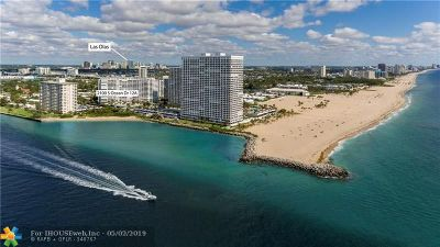Fort Lauderdale Condo/Townhouse For Sale: 2100 S Ocean Dr #12A