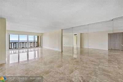Pompano Beach Condo/Townhouse Backup Contract-Call LA: 1012 N Ocean Blvd #904