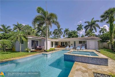 Wilton Manors Single Family Home For Sale: 640 NW 22nd St