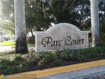 Plantation Condo/Townhouse For Sale: 9302 NW 9th Pl #1
