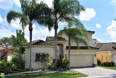 Coral Springs Single Family Home For Sale: 12154 NW 46th St