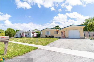 North Lauderdale Single Family Home Backup Contract-Call LA: 8210 SW 3rd Pl