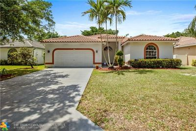 Coral Springs Single Family Home For Sale: 5450 NW 57th Ave