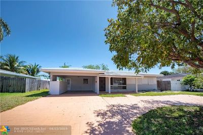 Pompano Beach Single Family Home For Sale: 440 SE 2nd Ave