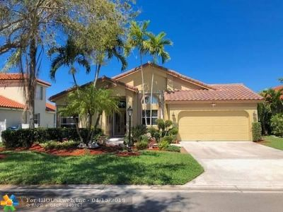 Coral Springs Single Family Home For Sale: 5753 NW 48th Ct