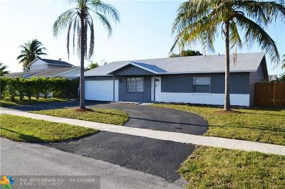 Lauderhill Single Family Home For Sale: 8351 NW 46th St
