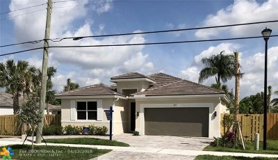 Wilton Manors Rental For Rent: 633 NW 29th St
