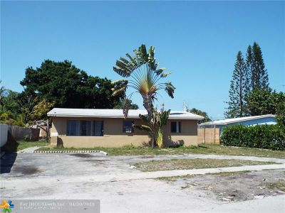 Fort Lauderdale Single Family Home For Sale: 807 SW 28th St.