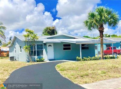 Deerfield Beach Single Family Home For Sale: 709 NW 1st Way