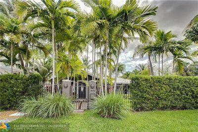 Fort Lauderdale FL Single Family Home For Sale: $775,000