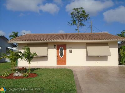 Tamarac Single Family Home For Sale: 4802 NW 27th Way