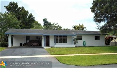Plantation Single Family Home Backup Contract-Call LA: 142 SW 52nd Ter