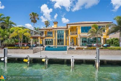 Lighthouse Point FL Single Family Home For Sale: $3,750,000