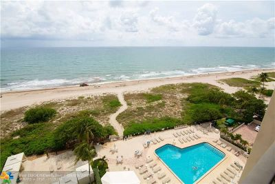 Lauderdale By The Sea Condo/Townhouse For Sale: 1900 S Ocean Blvd #10F
